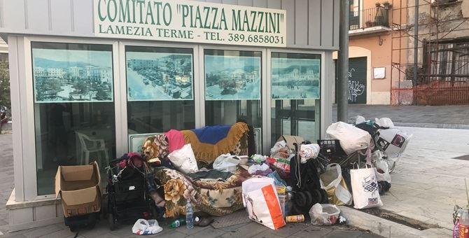 Il degrado di Piazza Mazzini