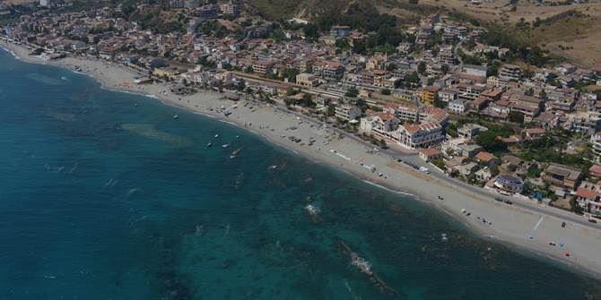 Un tratto della costa di Brancaleone