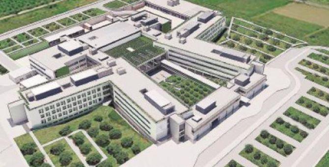 Il progetto dell'ospedale