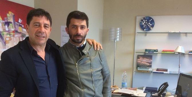 Domenico Pallaria e Damiano Carchedi