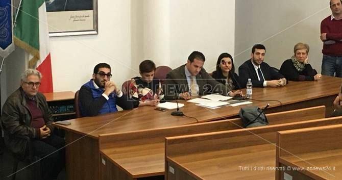 La conferenza stampa a Bovalino