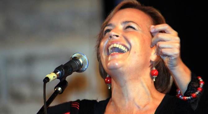 La cantastorie Francesca Prestia
