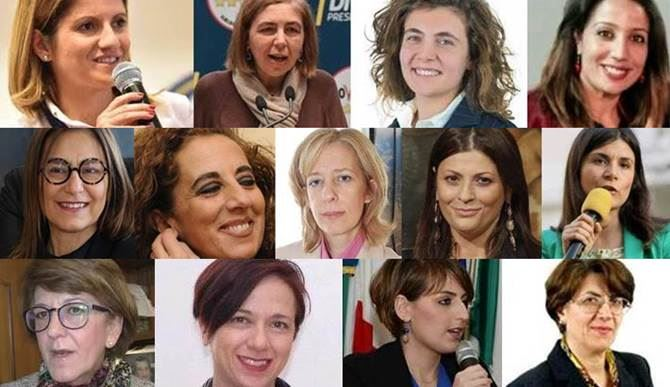 Calabria in rosa al parlamento tredici donne elette for Deputate pd donne elenco