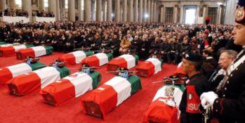 I funerali delle vittime