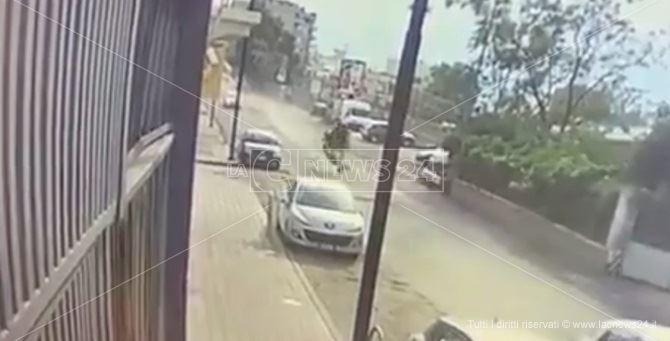 Un frame dell'incidente di Reggio