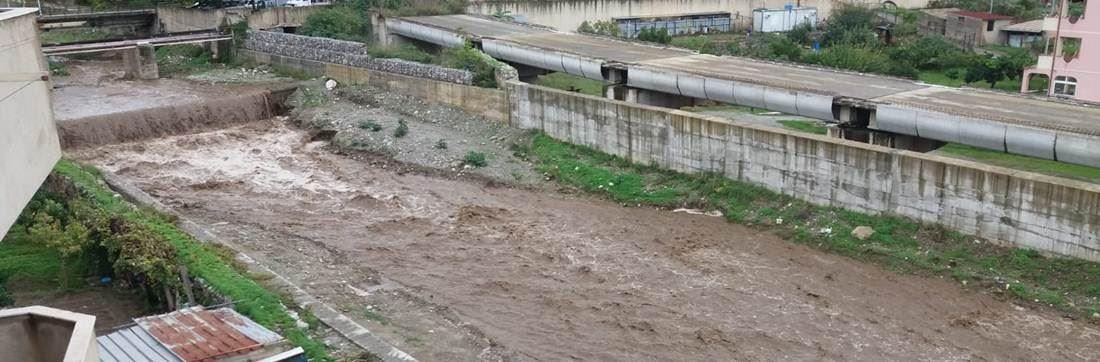 Il torrente Calopinace