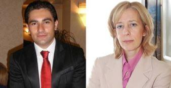 Domenico Furgiuele e Silvia Vono