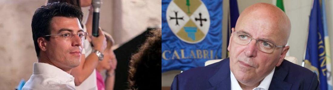 Gianluca Callipo e Mario Oliverio