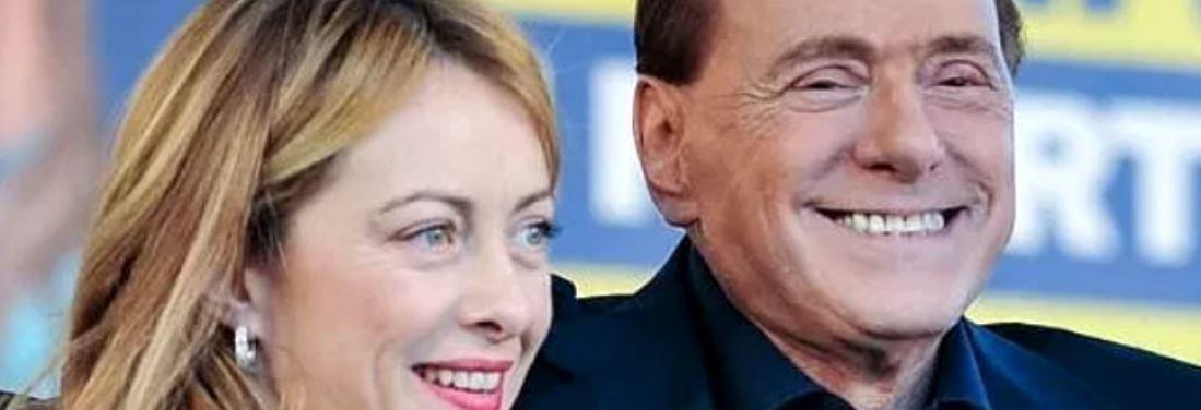 Meloni e Berlusconi