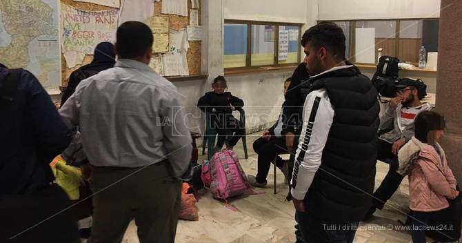 Gli iracheni sbarcati a Roccella