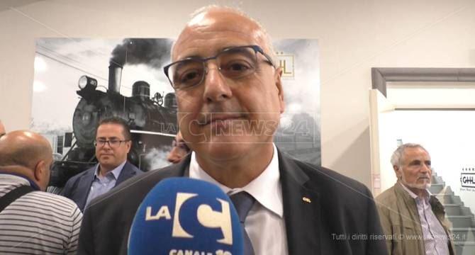 Tonino Russo, nuovo segretario della Cisl Calabria