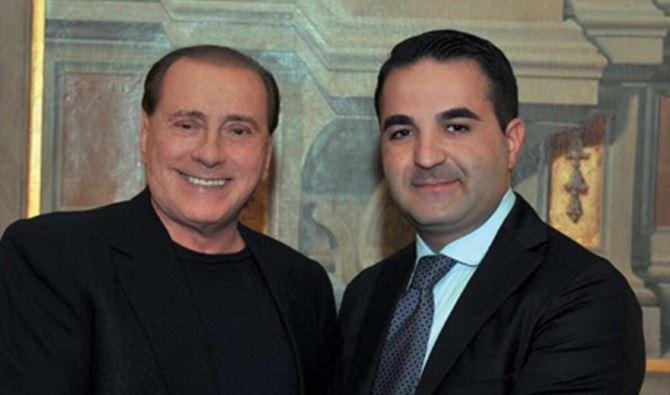 Francesco Cannizzaro con Silvio Berlusconi