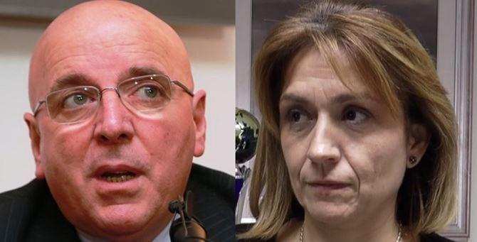 Mario Oliverio e Angela Robbe