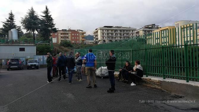 Protesta a Rossano