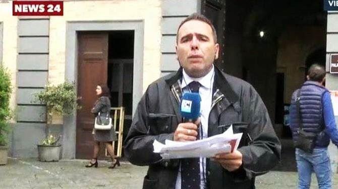 Il giornalista Pantano