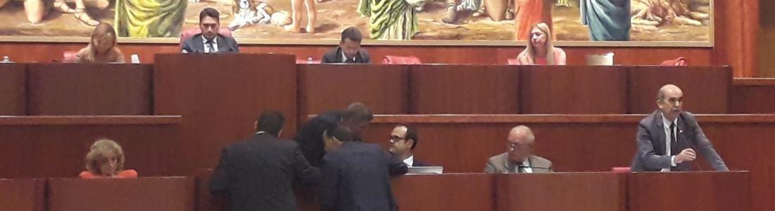 La seduta del Consiglio regionale sulla sicurezza del territorio