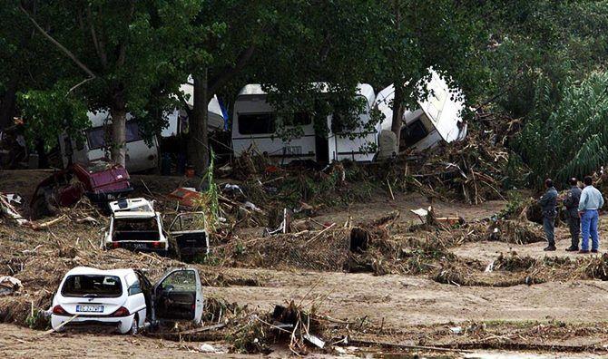 L'alluvione a Soverato