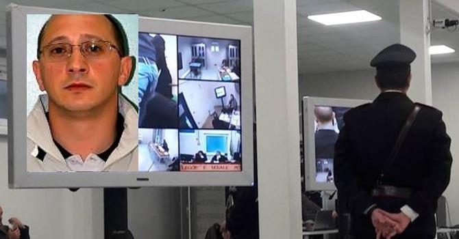 Il pentito Vincenzo Marino durante il processo Aemilia