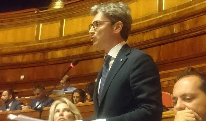 Il senatore Mangialavori