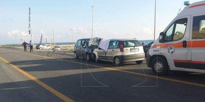 L'incidente stradale ad Amantea