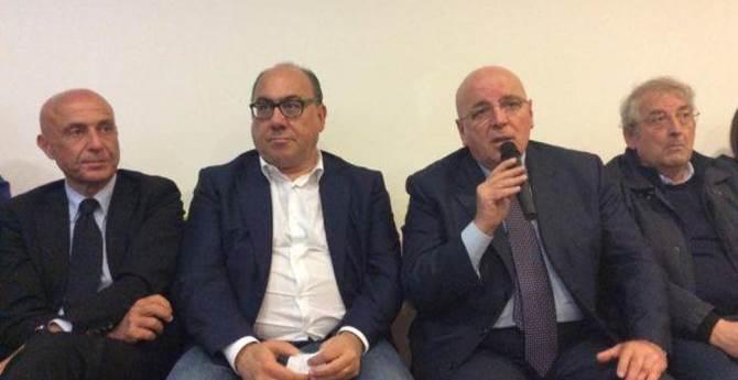 Minniti, Guccione, Oliverio e Magorno
