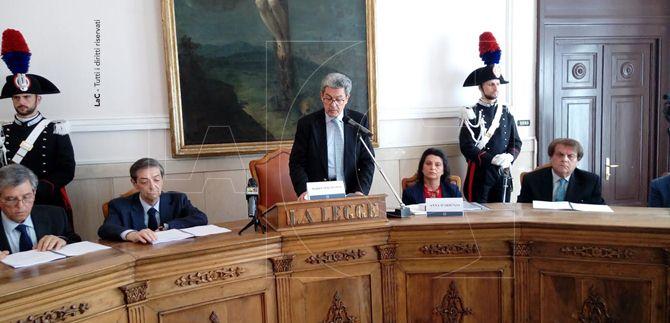 Inaugurazione a Catanzaro dell'anno giudiziario tributario