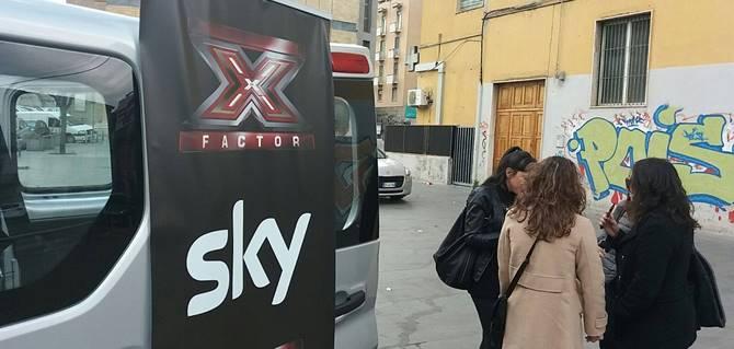 Cosenza, X factor tour