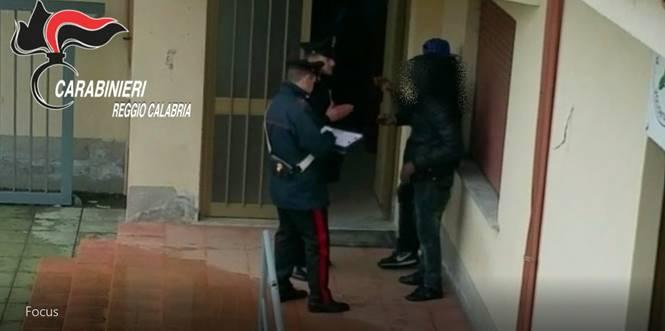 Attività dei Carabinieri nel Reggino