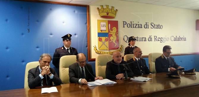 Reggio Calabria, conferenza stampa