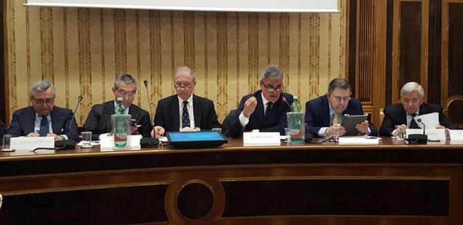 """Il convegno in cui è stato presentato il rapporto """"Pmi Mezzogiorno 2017"""""""