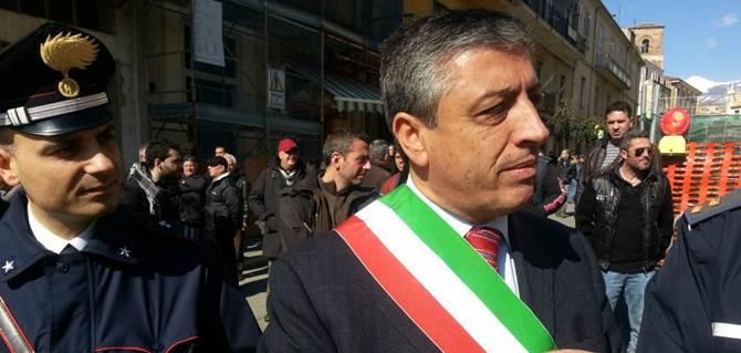 Il sindaco di Cassano, Gianni Papasso