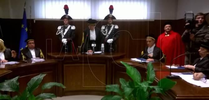 Inaugurazione anno giudiziario Corte dei conti di Catanzaro