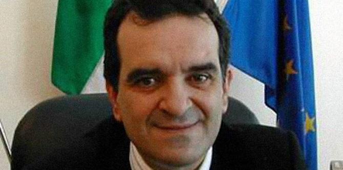 Il presidente della Provincia Enzo Bruno