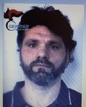 Ernesto Fazzolari dopo la cattura