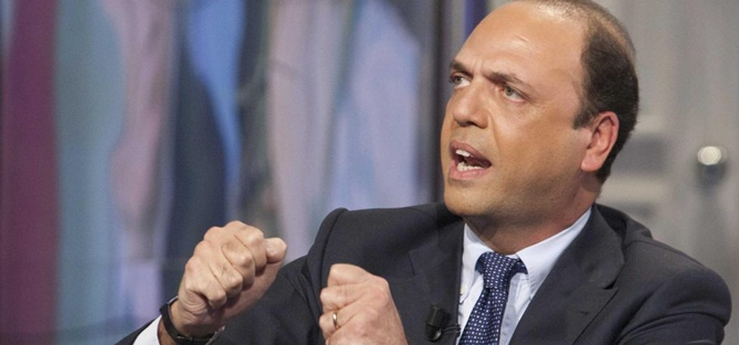Il ministro Alfano