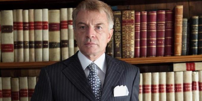 Il presidente della Commissione Giustizia al Senato D'Ascola