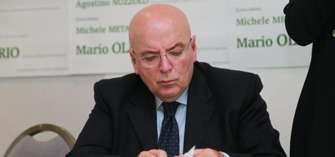 Il presidente della Regione, Mario Oliverio