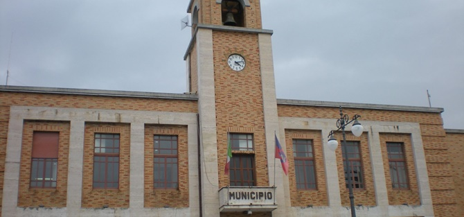 Palazzo Razza, sede del Comune di Vibo Valentia