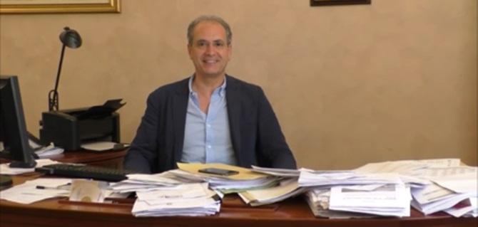 Il sindaco di Lamezia, Paolo Mascaro