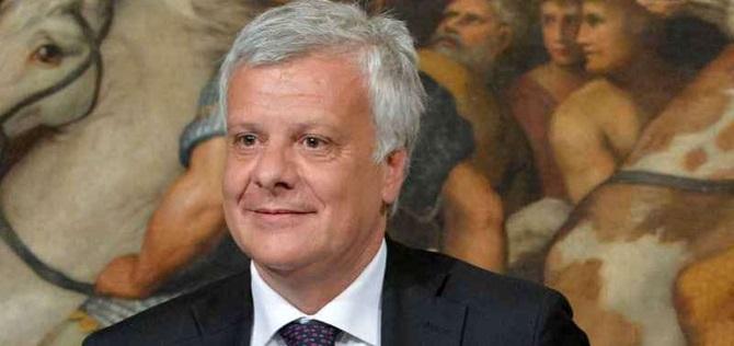 Il ministro dell'Ambiente Gian Luca Galletti