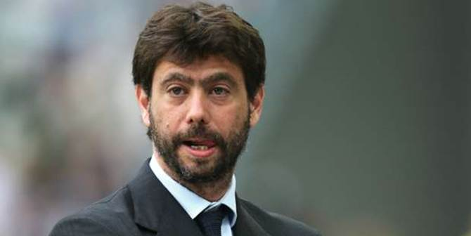 Juventus, il presidente Agnelli