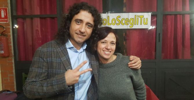 Paolo Parentela e Bianca Laura Granato