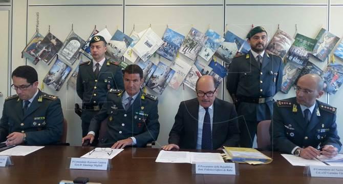 Operazione Gerry, conferenza stampa a Reggio Calabria