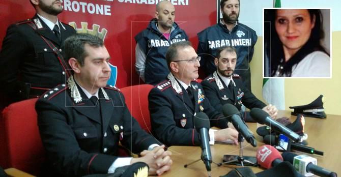 Omicidio Antonella Lettieri, la conferenza stampa a Crotone