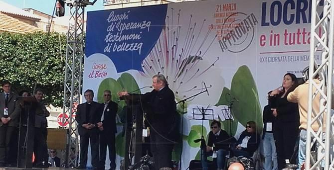 A Locri la Giornata della memoria e dell'impegno a Locri