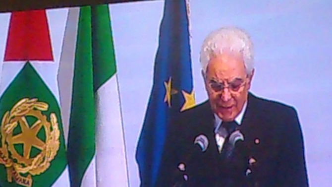 Il presidente Mattarella all'Unical