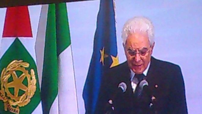 Il presidente Mattarella all'Unical