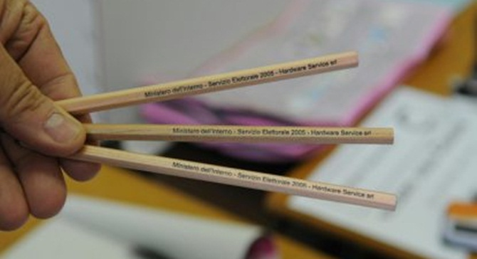 A Vibo Valentia è emergenza matita copiativa che si cancella!1!