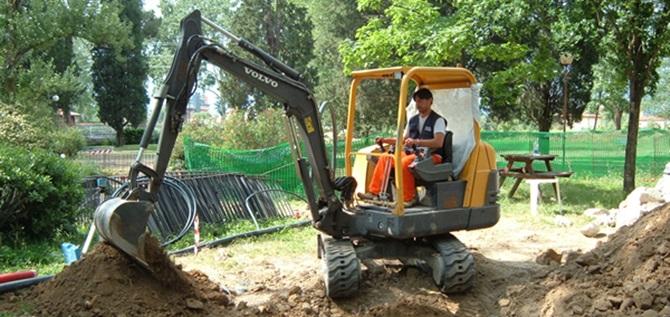 Escavatore (immagine di repertorio)