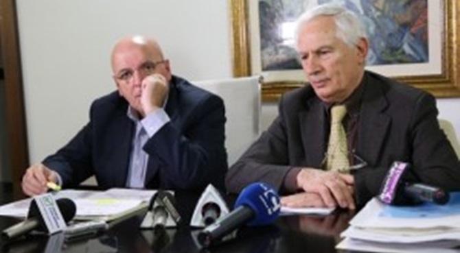 Il presidente Oliverio e il commisario Scura